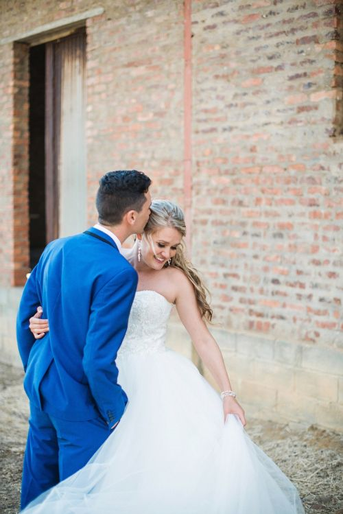 wedding love blue tux