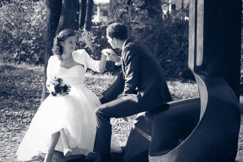 wedding pair bride