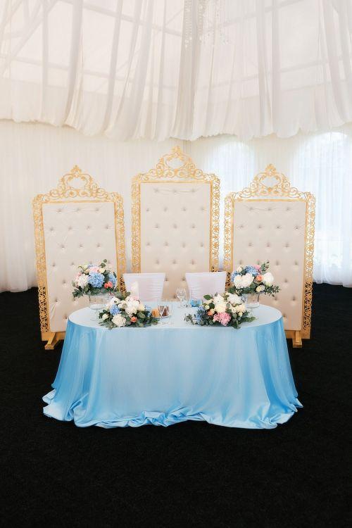 wedding table reception