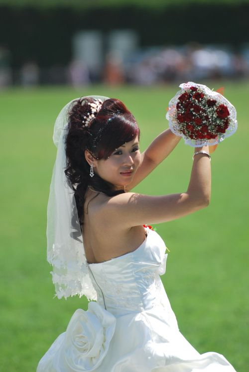 wedding bride pisa