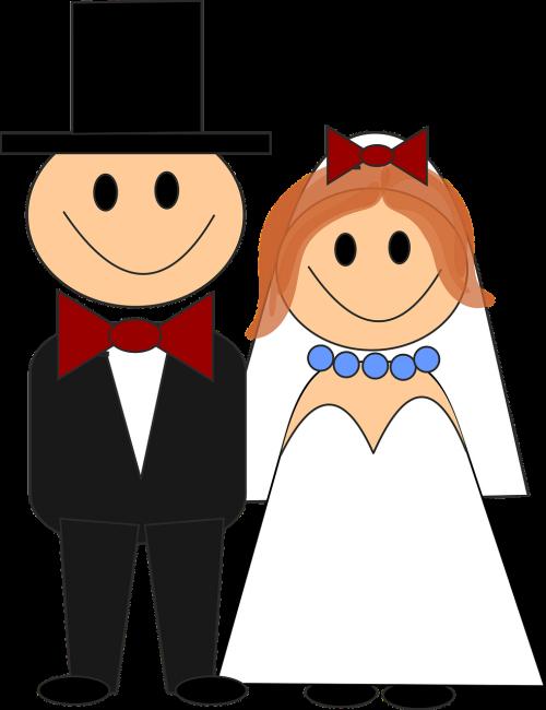wedding bride and groom bride