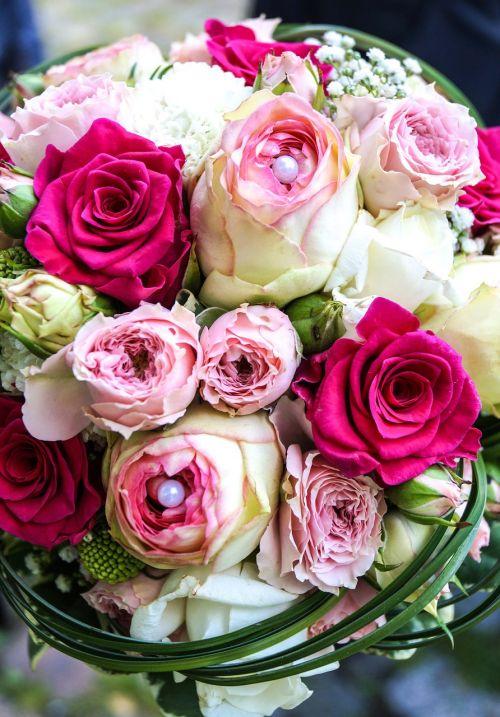 wedding love roses