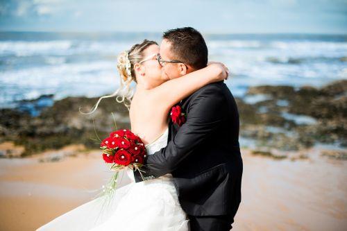 wedding kisses complicity