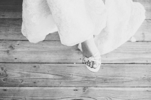 wedding shoes toes