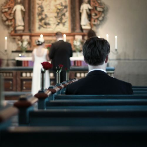 wedding loneliness alone