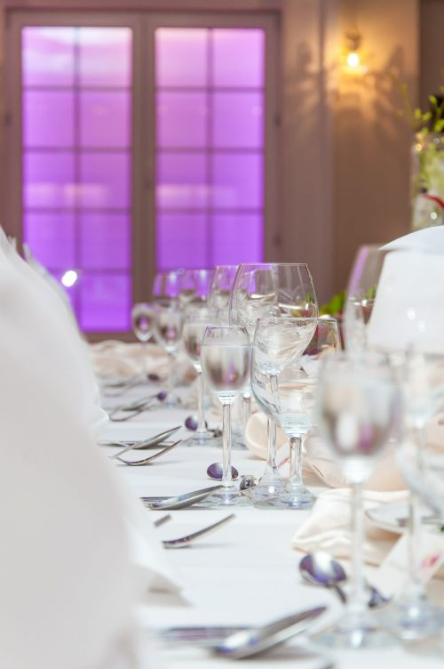 wedding cutlery event