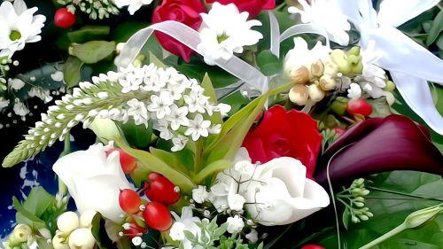 wedding flowers love