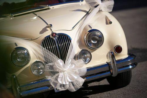 wedding car love