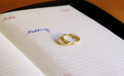 wedding time wedding rings