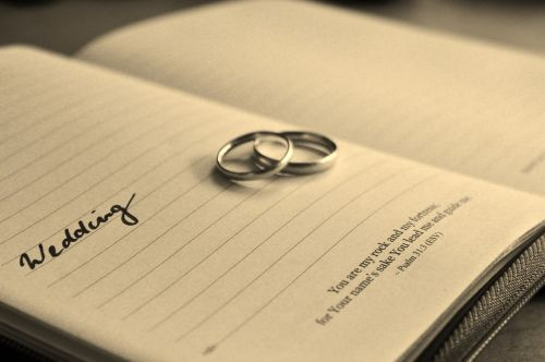 wedding wedding date wedding rings