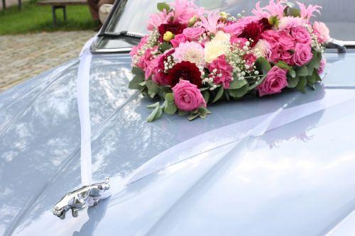 wedding jaguar wedding car