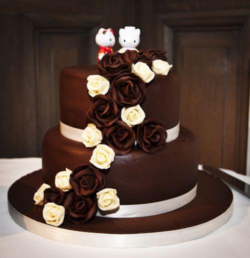 wedding cake cake chocolate