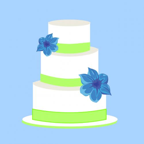 wedding cake layers celebration