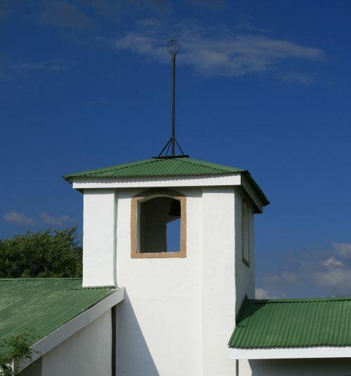 wedding chapel building blue sky