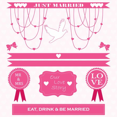 Wedding, Marriage Clipart