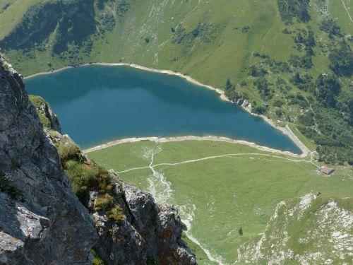 wedding mountain lake lake bergsee