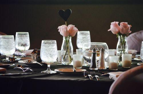 wedding reception dinner formal