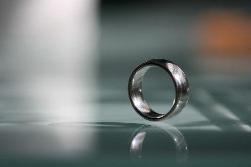 wedding ring ring silver
