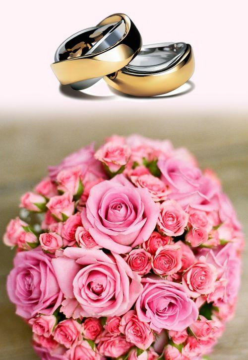 wedding rings wedding before