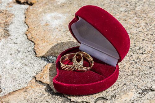 wedding rings wedding day love