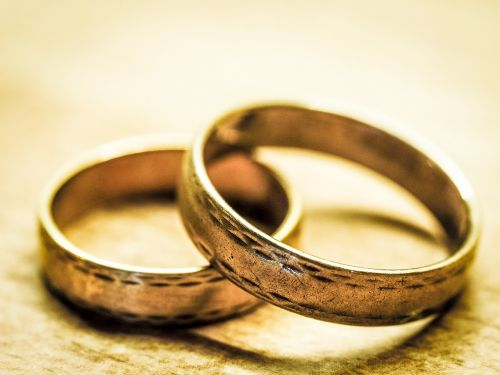 wedding rings before rings