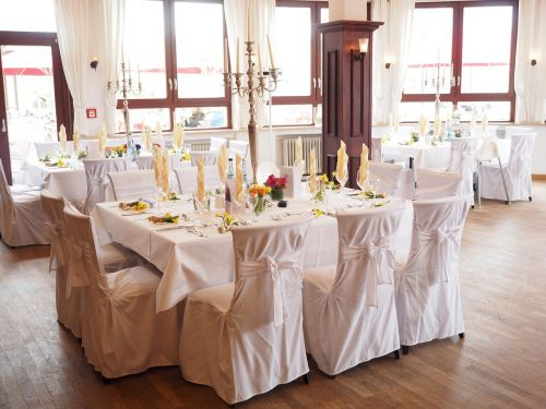 wedding table ballroom hall