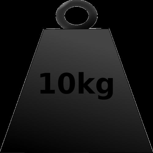 weight kilograms 10