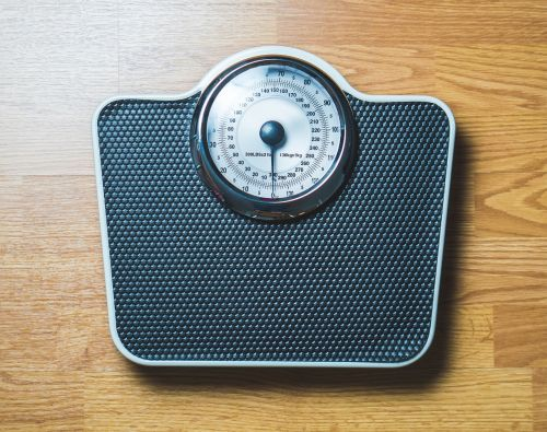 weight scale overweight