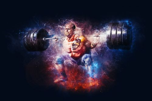 weightlifting power fitness