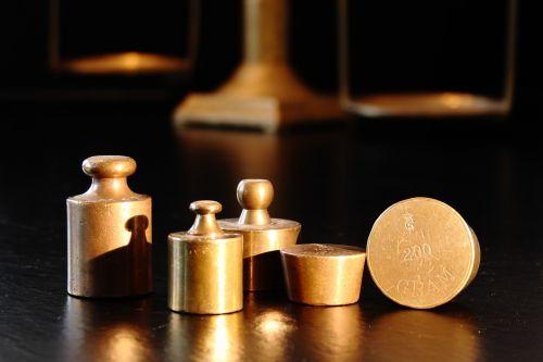 weights gram brass
