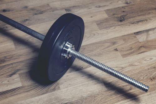 weights fitness barbell