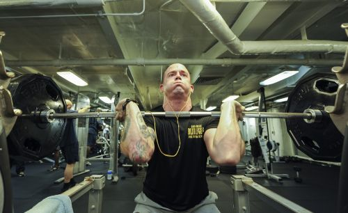 weights lifting power
