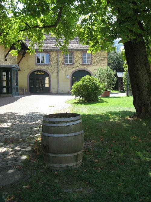 weinhof winery barrel