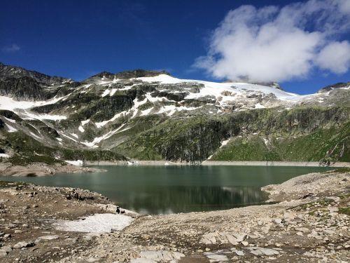 weißsee mountains austria