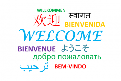 welcome words greeting