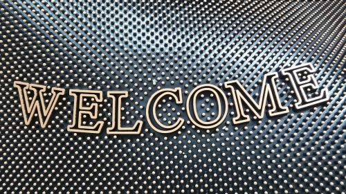 welcome mat welcome door mat