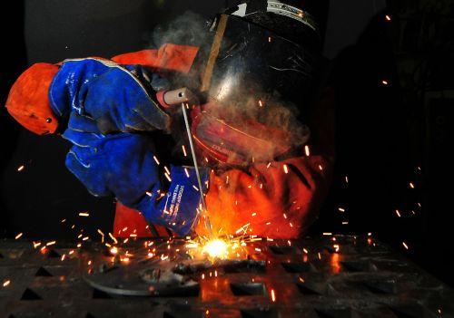 weld welding fire