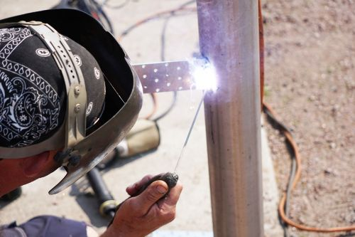 welder weld worker