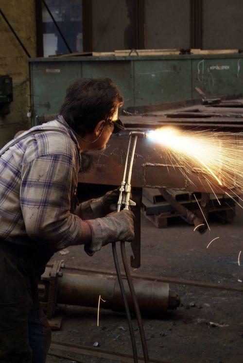 welder work welding