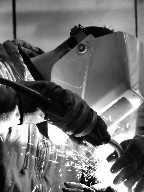 welding man work
