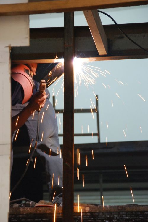 welding factory industry