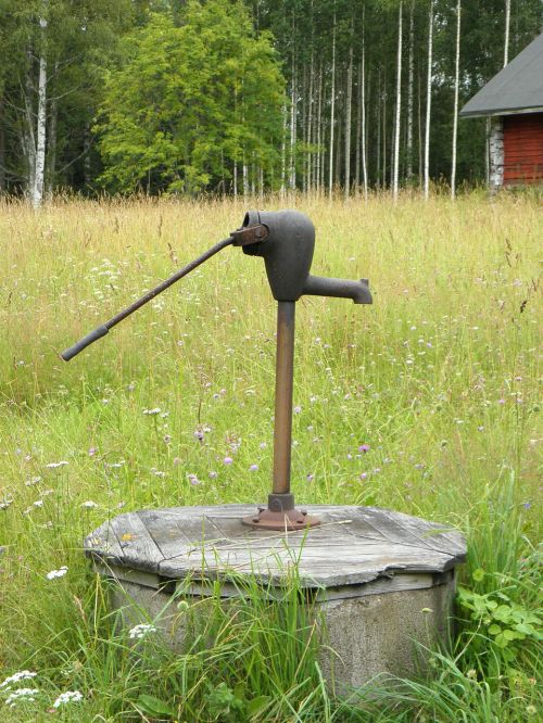 well pump countryside