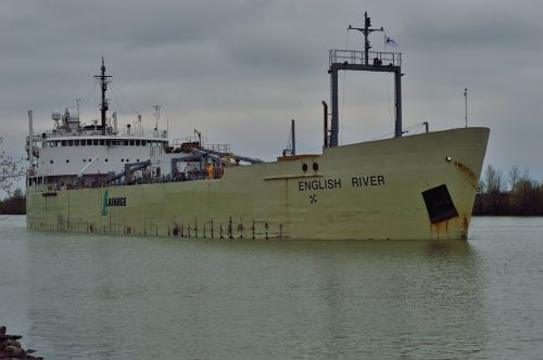 welland canal canada ship