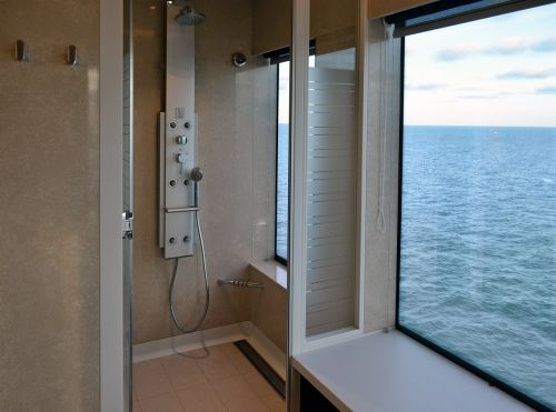 wellness shower cruise ship