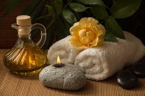 wellness  carafe  towels