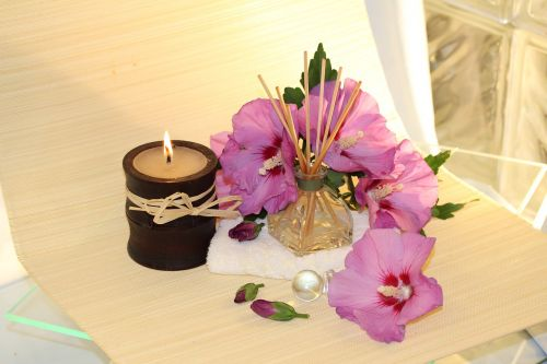 wellness fragrance candle