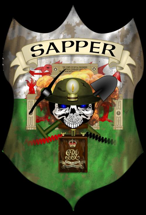 welsh sapper engineer