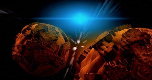 planeta, erdvė, astronomija, erdvė & nbsp, kelionė, dangiškasis & nbsp, kūnas, paviršius, galaktika, visata, žvaigždės, fantazija, fonas, erdvė