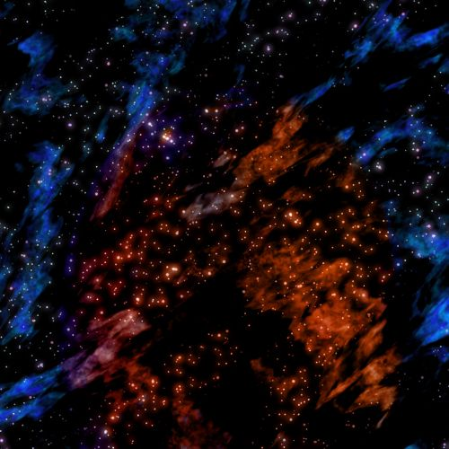 Outer Space Fog Background