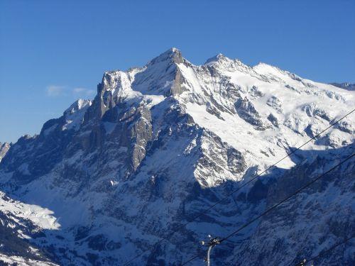 wengen mountains bernese oberland